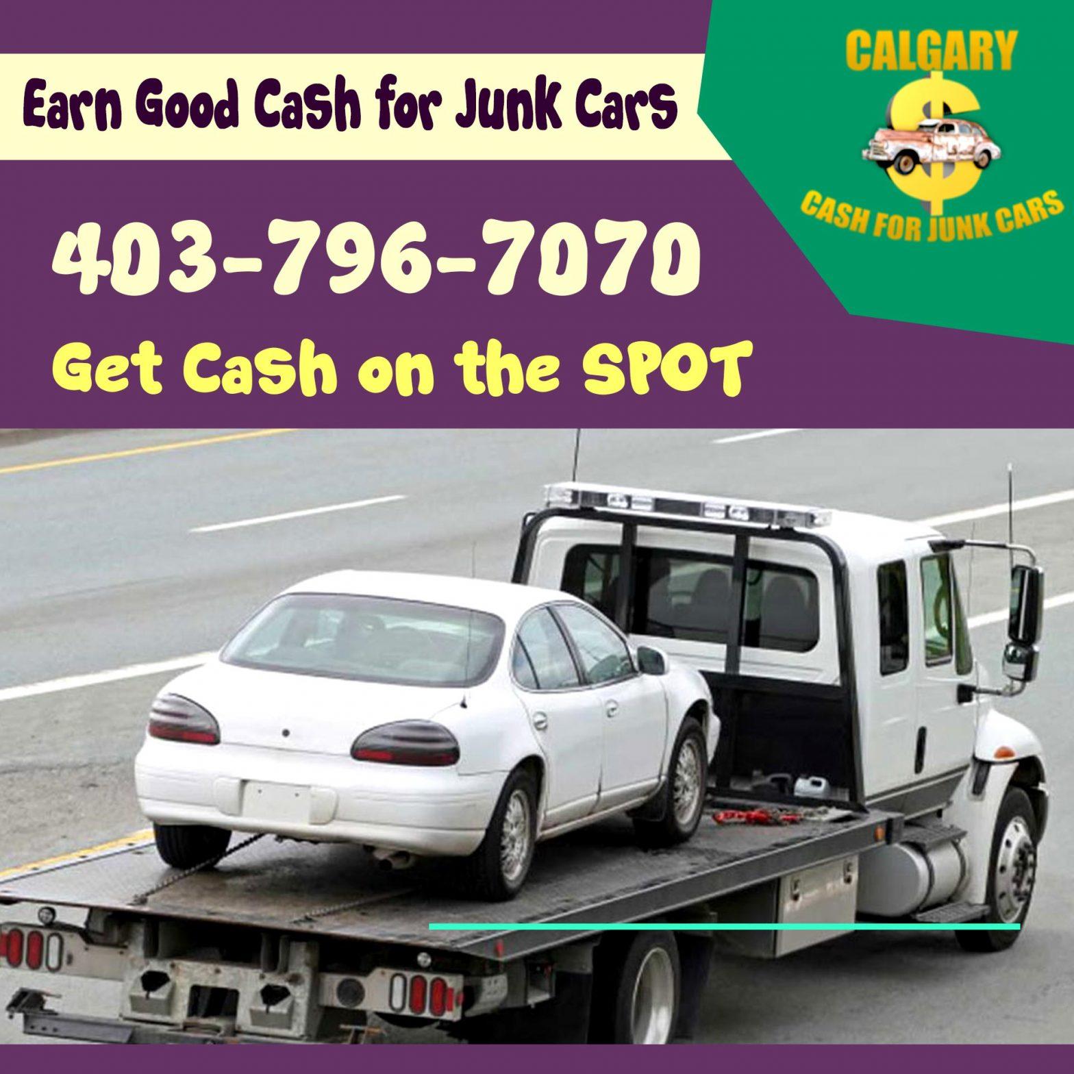 Earn Good Cash for Junk Cars